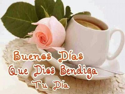 bendecido dia bueno