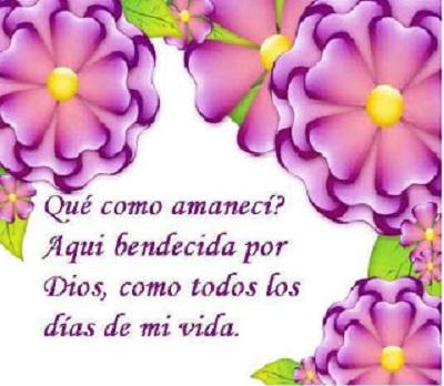 bendecido dia dios