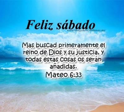 feliz y bendecido sábado dios