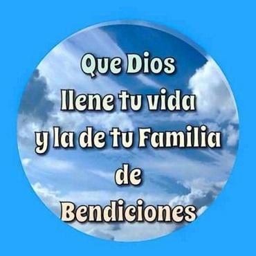 buenos dias familia bendiciones