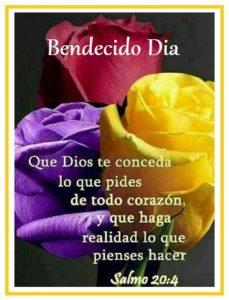 bendiciones cada mañana dios