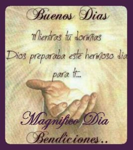 magnifico dia bendiciones
