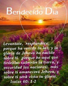 Buenos Dias con Citas Biblicas Luz