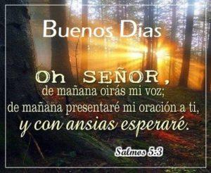 Buenos Dias con Citas Biblicas Mañana.