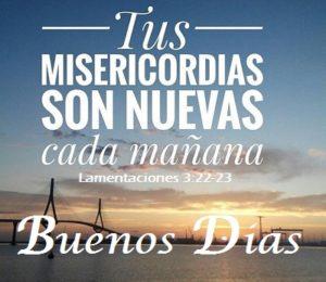 Saludos con Mensajes Biblicos Mañana