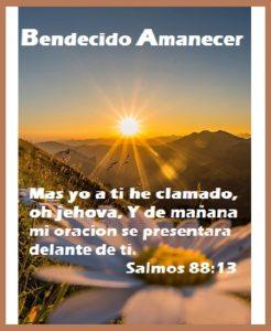 Saludos con Mensajes Bíblicos Oración