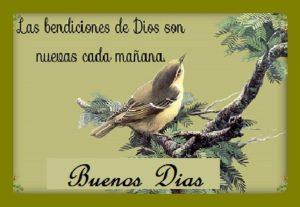saludos y bendiciones Dios