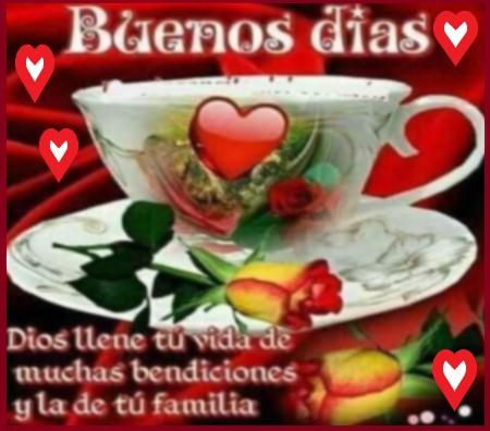 buenos días con amor bendiciones