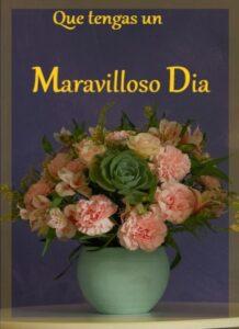 bendecido día flores